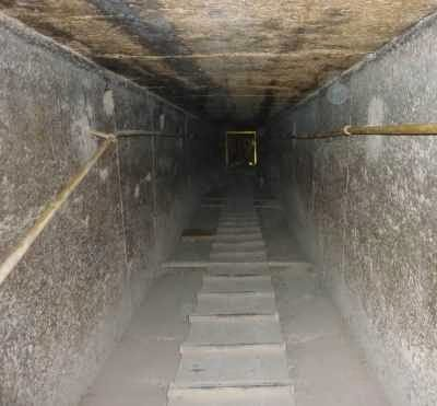 granite waveguide to vibrator of khufu pyramid descending passage