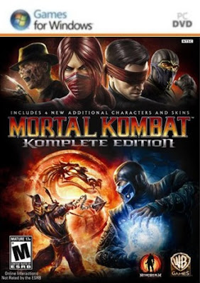 Mortal Kombat: Komplete Edition PC Cover