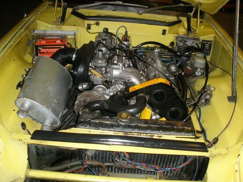 Daily Turismo: 5k: 1974 Jensen Healey 1-Owner Garage Find