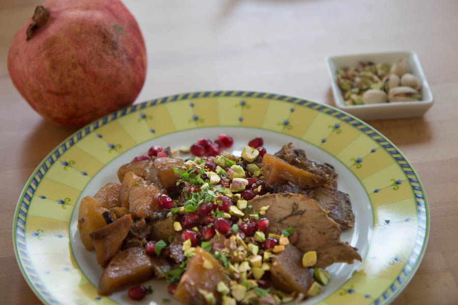 Persische Lammkeule