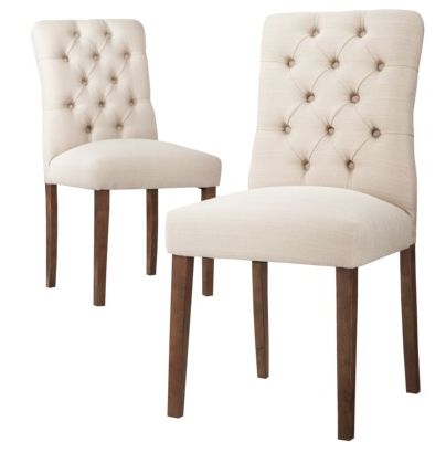dining chairs, dining room, upholstered chair, target