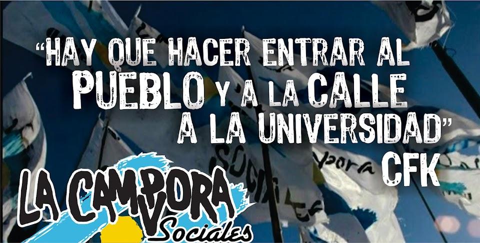 La Cámpora Sociales UBA