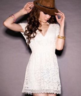 http://www.znu.com/women-s/dresses/white-v-plunge-front-lace-dress.html