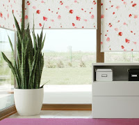 Aranżacja - dekoracja okna - jasne barwy