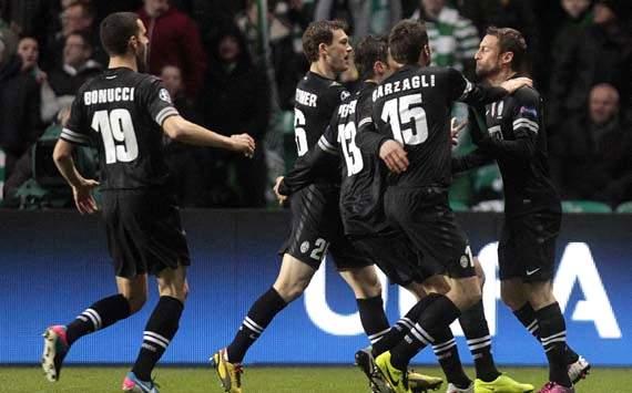 Juventus Bantai Celtic 3 Gol Tanpa Balas