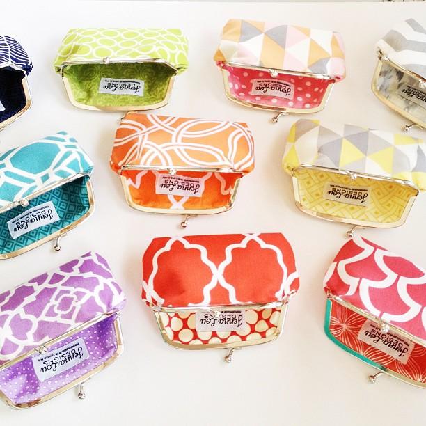 jenna lou designs custom clutch purse