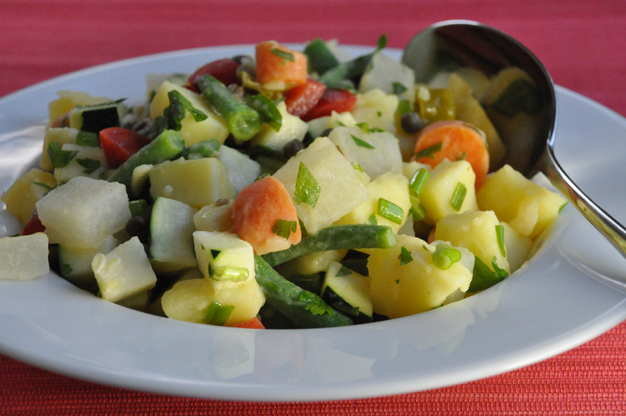 Recipe: Italian Russian potato salad
