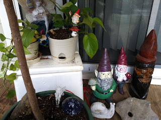gnomes, statues, collection