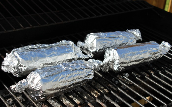 how to cook corn on the grill with aluminum foil