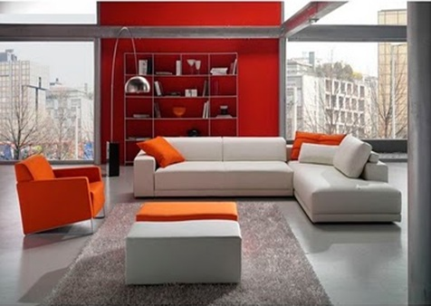 Modern and contemporary living rooms design and decoration