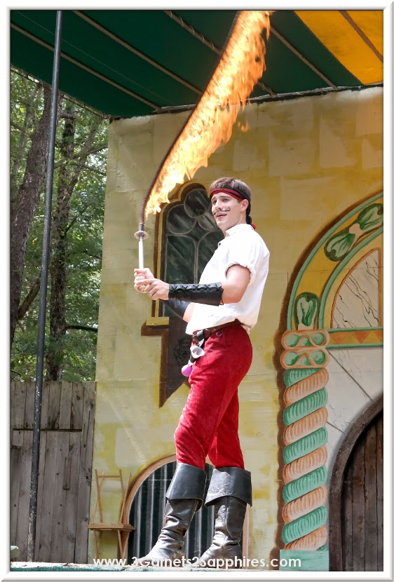 Jacque ze Whipper at King Richard's Faire 2014  |  www.3Garnets2Sapphires.com