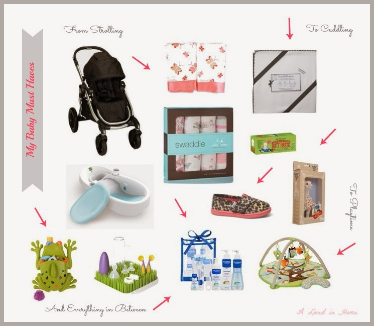 A Lived in Home: My Baby Must Haves