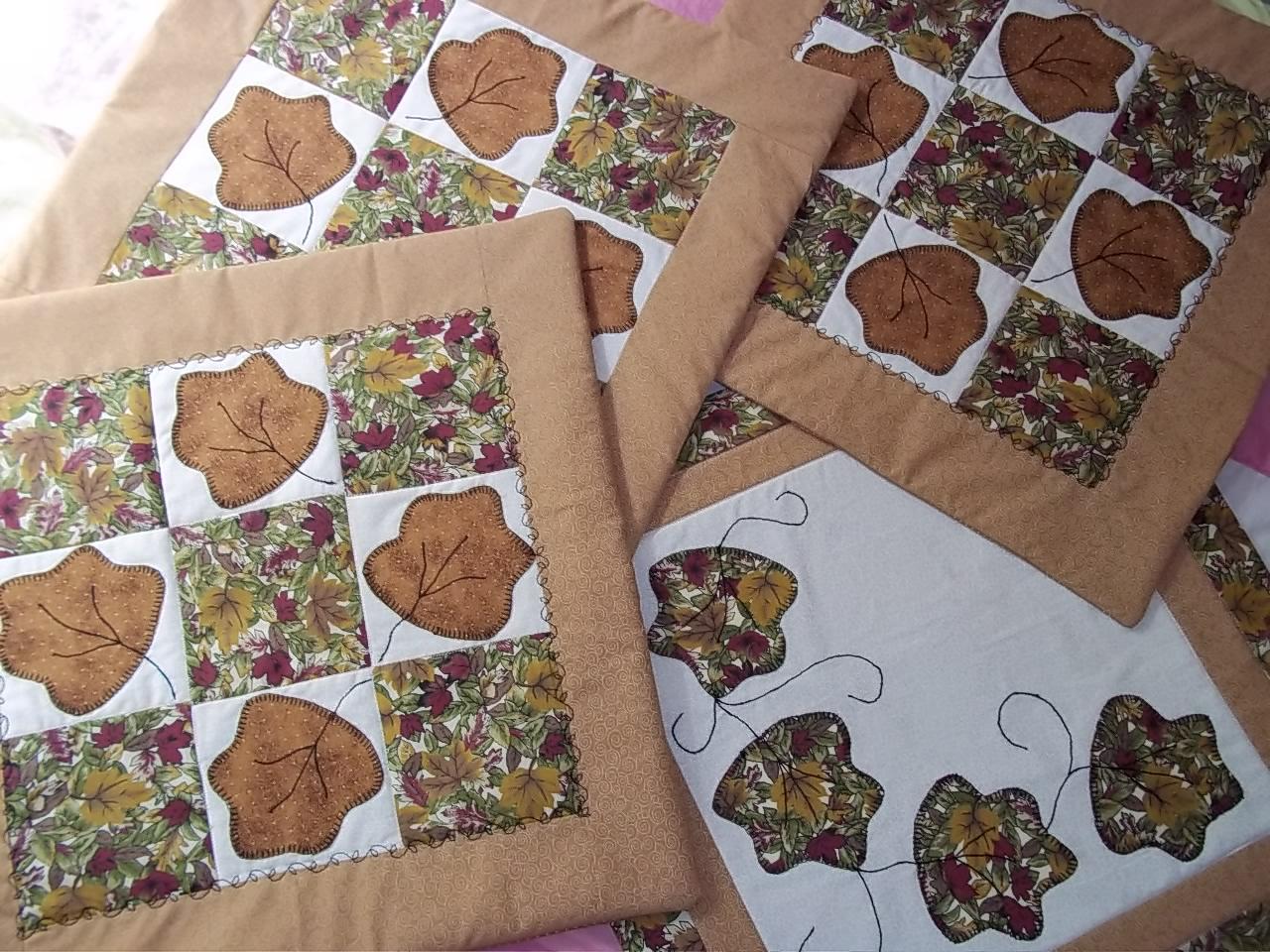 Muito Patches by Márcia Ruiz: capas para almofadas com patchwork / patch  KH65