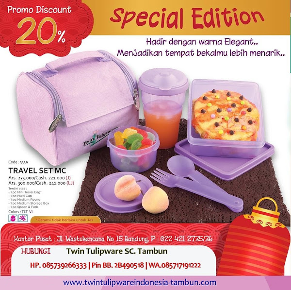 New Spesial Edition Diskon 20% Januari 2016
