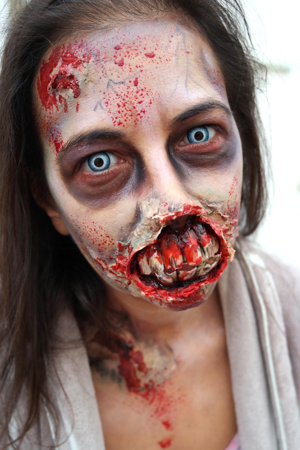 Maquillaje FX y Halloween (terror)
