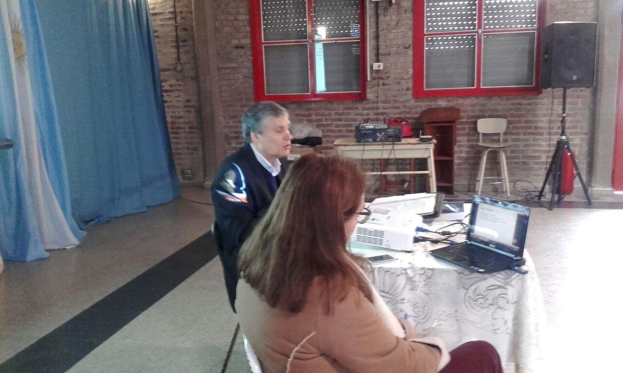 """Conferencia """"PENSAMIENTO ECONÓMICO"""" del Gral. Belgrano, Instituto Inmaculada Concepcion"""" de Burzaco"""