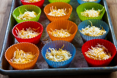 Recipe for Green Chile and Cheese Egg Muffins