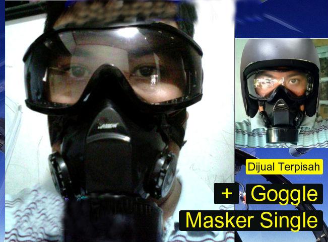 masker gas masker respirator berkualitas jual masker gas masker ...