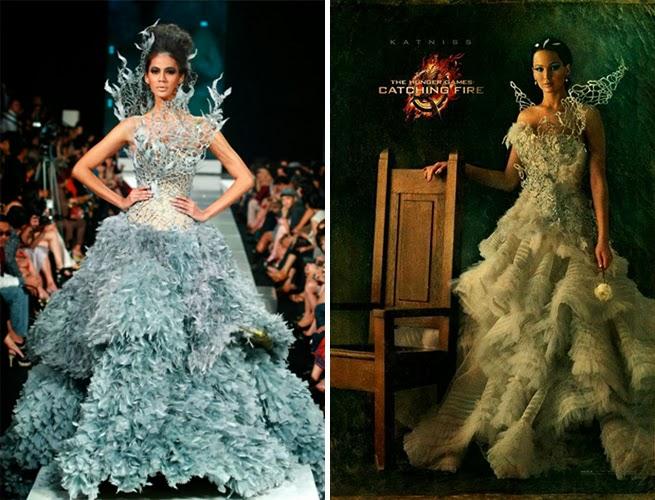 the fashion journalist: six facts about katniss everdeen's wedding dress