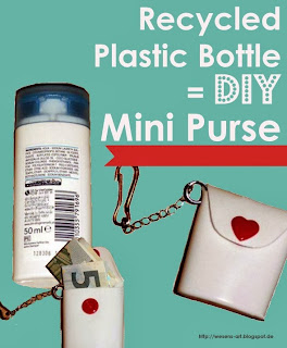 Plastic Bottle to Mini Purse     wesens-art.blogspot.com