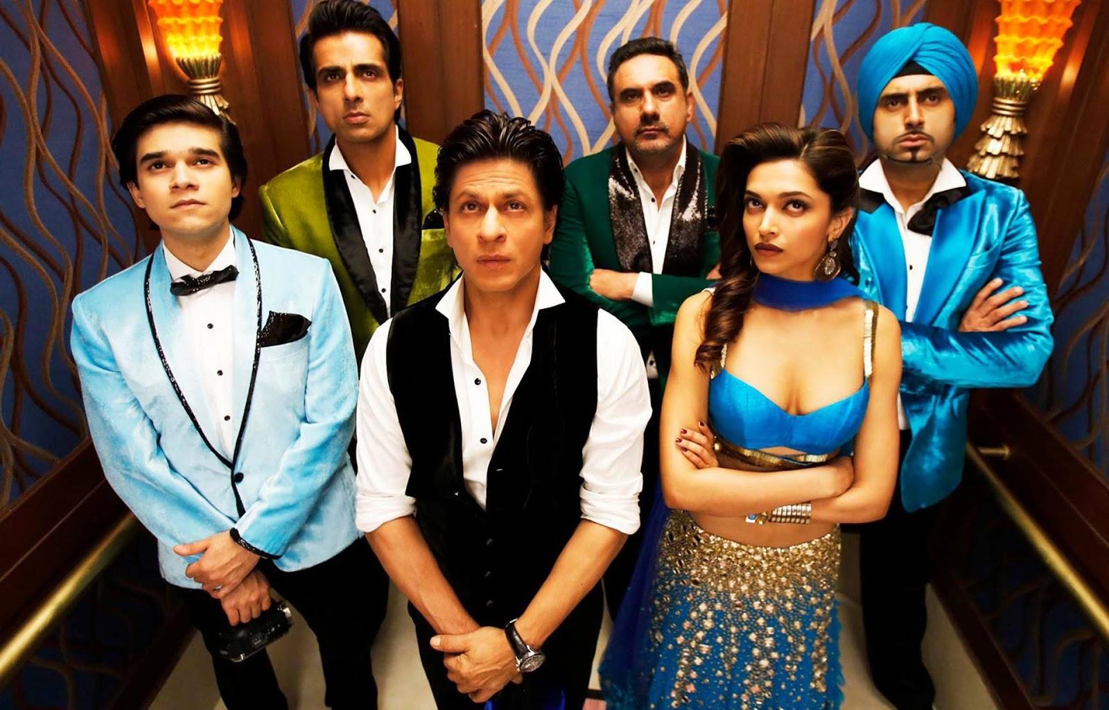 happy new year the ensemble cast shahrukh khan deepika padukone boman irani