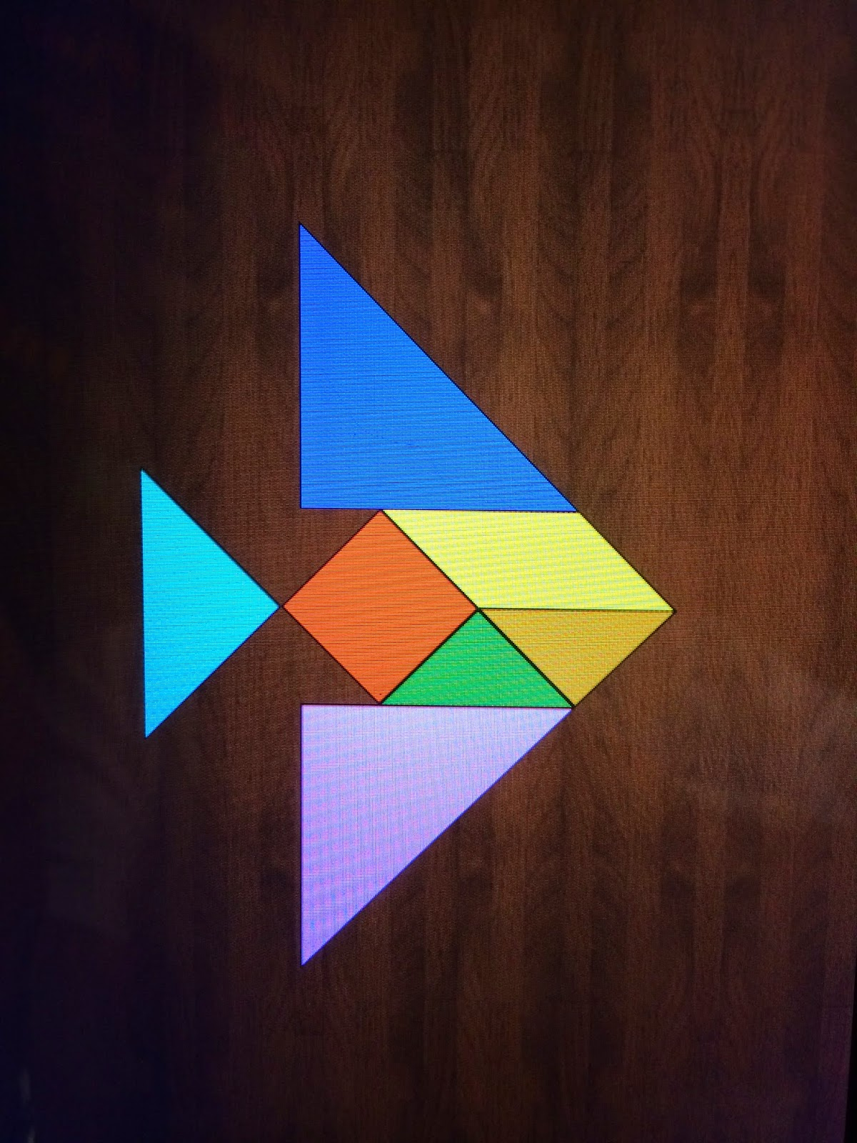 The Patchery Menagerie Tangram