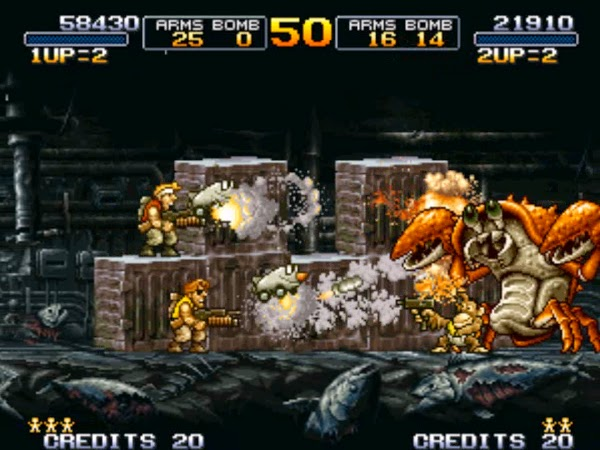 Metal Slug 3 gameplay