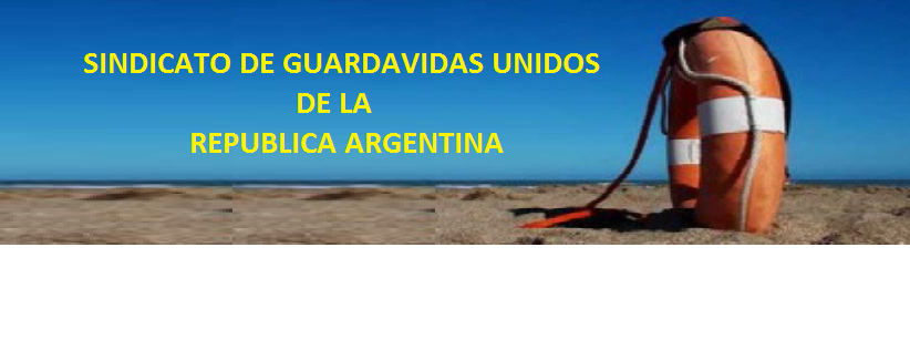 SINDICATO DE GUARDAVIDAS UNIDOS DE LA REPUBLICA ARGENTINA