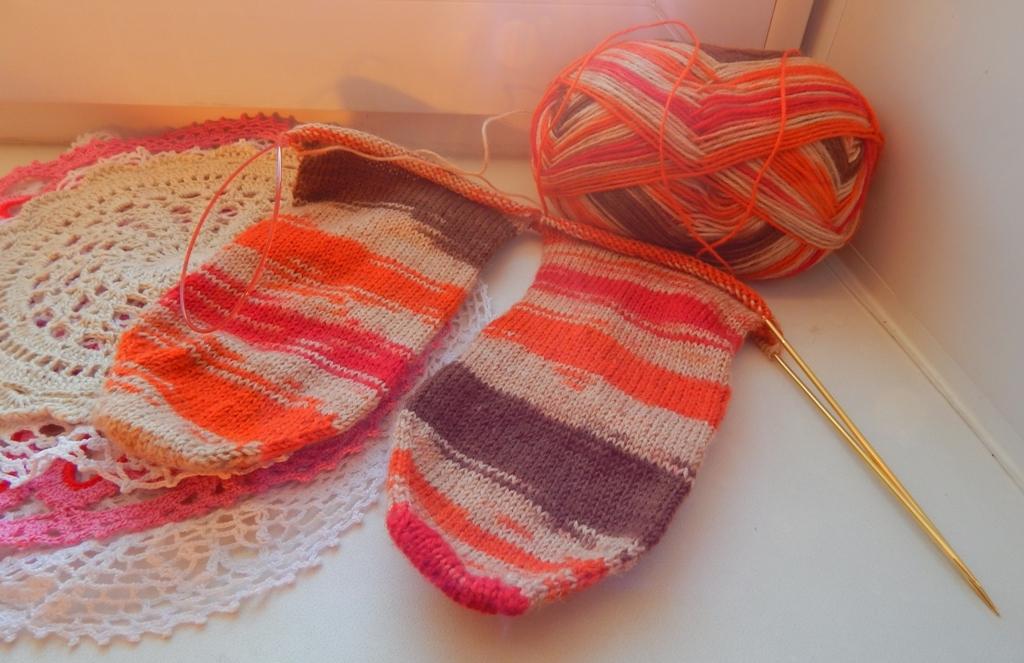 Вязание носков со светланой берсановой 28