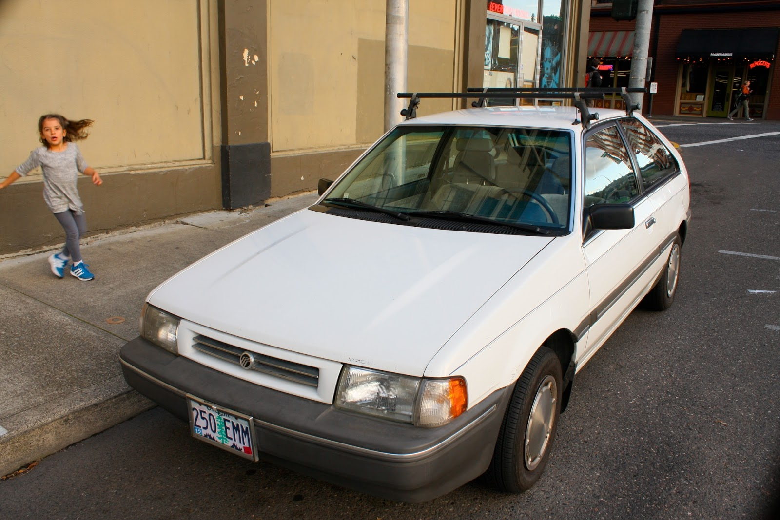1987 Mercury Tracer hatchback