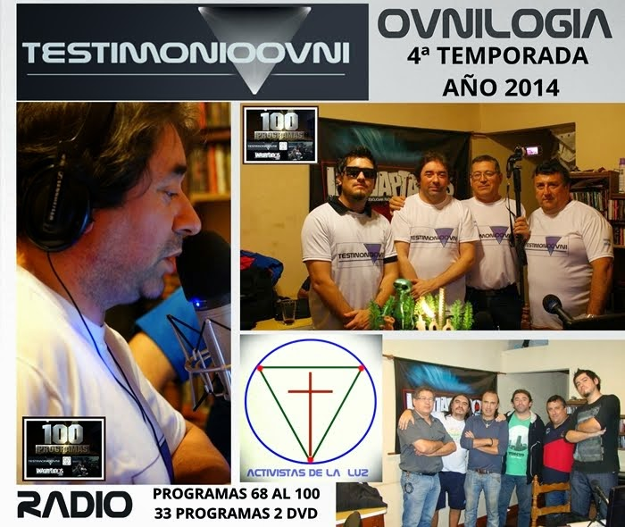 CD's TESTIMONIO OVNI RADIO 4ª TEMP.
