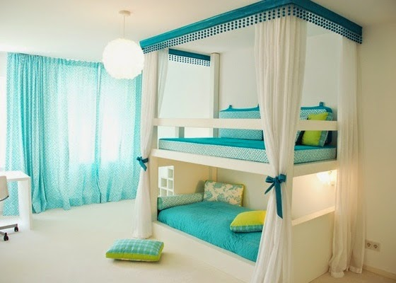 teenage girl bedroom ideas with bunk beds - Teen Girl Bedroom Ideas