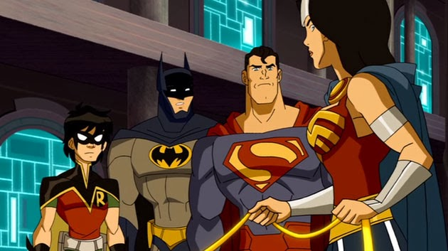 Justice League Adventures animated series