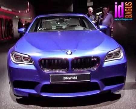 Tampak Depan BMW M5