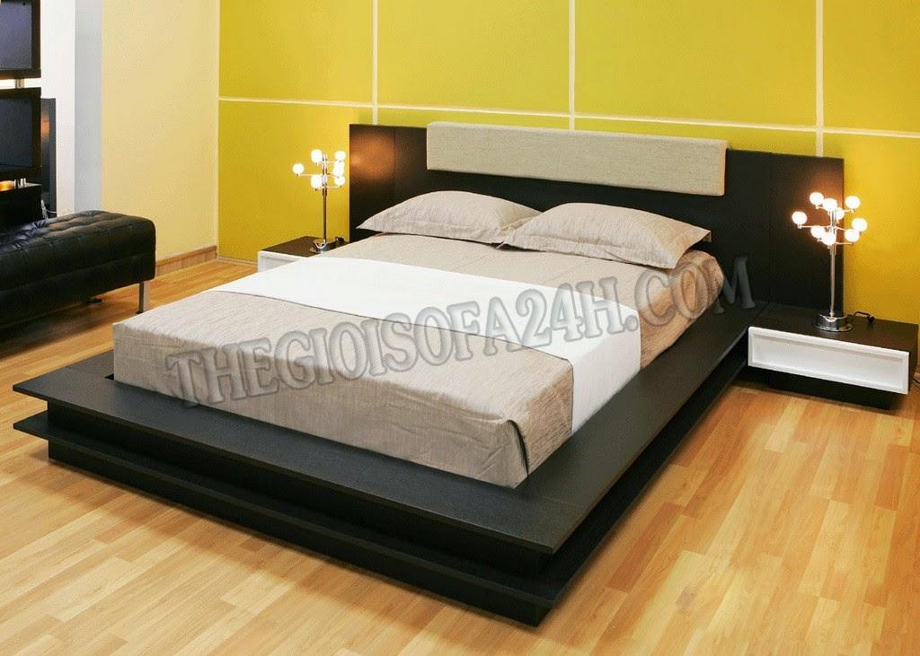 Giường ngủ GN057