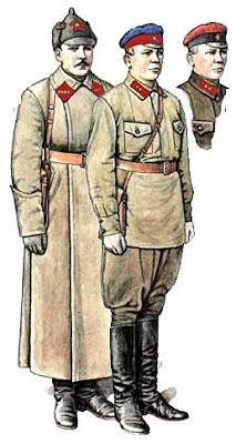 """""""Así nació el Ejército Rojo, hace 95 años"""" - texto publicado en el blog """"Cultura bolchevique"""" en febrero de 2013 - en los mensajes otro artículo sobre el mismo asunto Uniforme+ejercito+rojo+1918"""