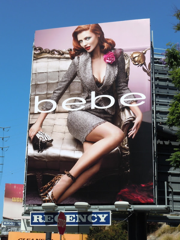 Bebe fashion 2011 billboard