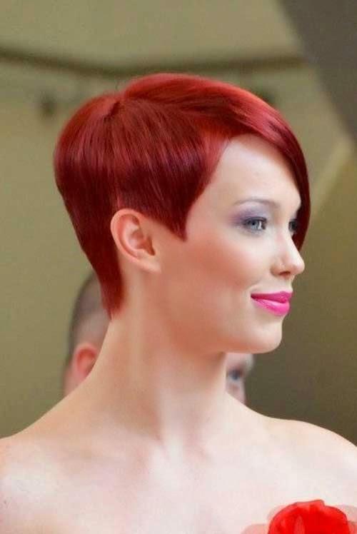 cortes de pelo corto pixie rojo 2014