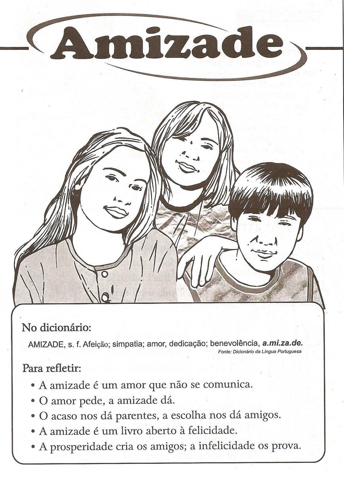 Preferência Material para o ministério infantil: A amizade GN02