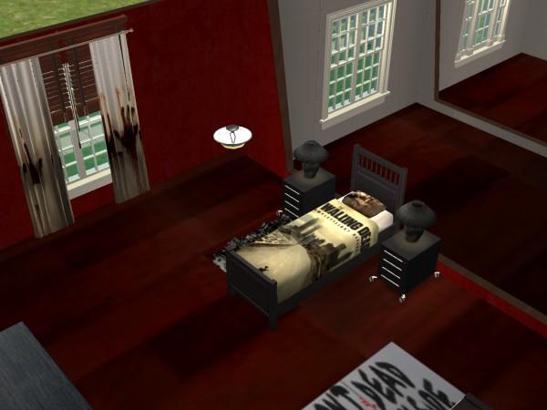 The walking dead bedroom