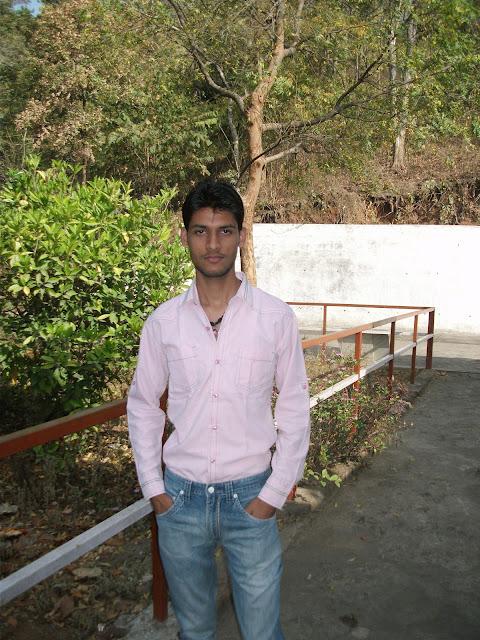 Anshu Dikshant at Van Devi Mandir, Renukoot