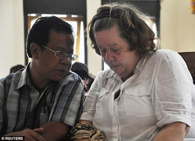 Lindsay Sandiford has been trying to raise money for a last-ditch appeal through Indonesia's complex legal system