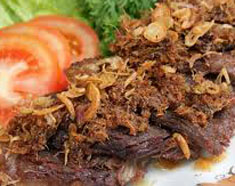 Resep masakan indonesia empal daging sapi empuk spesial (istimewa) praktis mudah gurih, sedap, enak, nikmat lezat