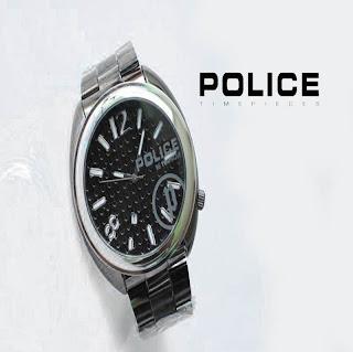 jam tangan keren POLICE PL-220 BLACK