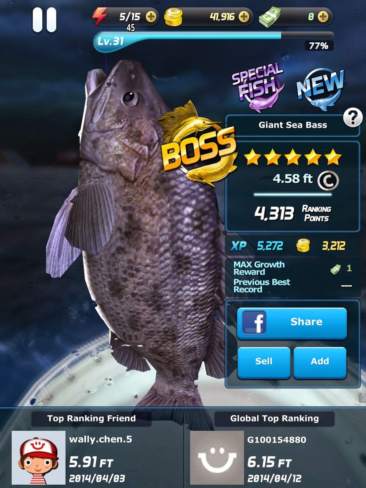 Gratis Game Memancing Ace Fishing - Wild Catch