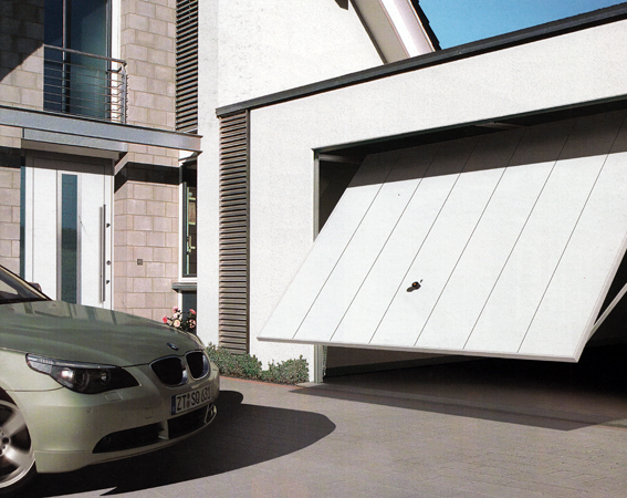 Home designs automatic garage doors