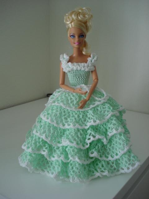 Rias Creaties Nieuwe Barbie Creatie