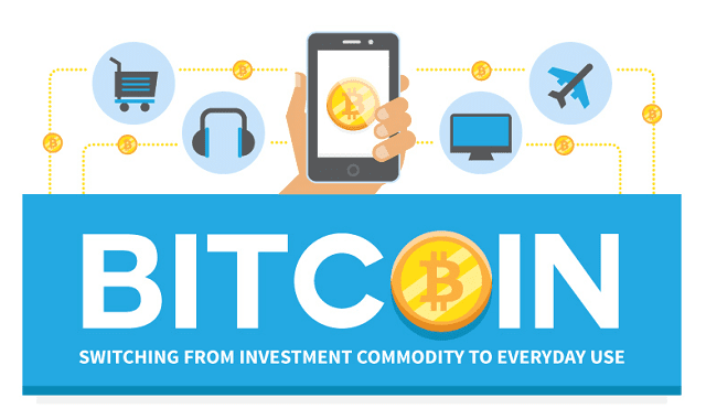 Bitcoin is Switching from Investment Commodity to Everyday Use