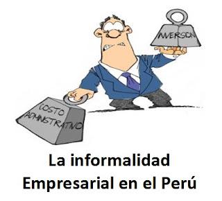 La informalidad Empresarial en el Perú