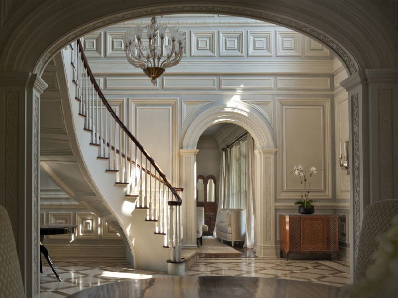 Beautiful Staircase Interior Gothic Interior Style Victorian Gothic Style Mansion Interior